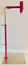 Limited Edition Fuchsia coloured lowery stand with side clamp